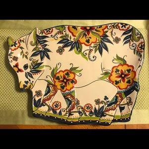 Rare ESPANA Bocca Cow Platter 16x12